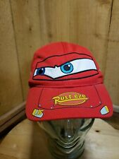 Disney Store Pixar Cars Lightning McQueen Toddler Baseball Cap Hat Kids  XXS/XS