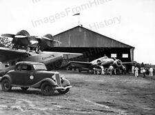 8x10 Print Amelia Earhart F Lockheed Electra Standard Oil Hanger #AEAD