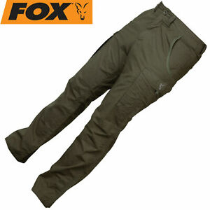 Fox Collection combats Hose Green / Silver - Angelhose, Angelkleidung, Kleidung
