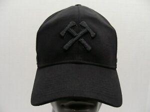 NO PITY PPB PFB - Portland Timbers MLS adidas L/XL stretch fit Baseball Cap Hat!