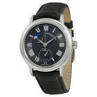 Raymond Weil Maestro Black Leather Mens Watch 2839-STC-00209