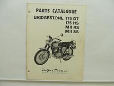 Bridgestone Parts Catalogue 175DT 175HS MIIRS MIISS L10967