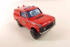 Majorette n° 246 Land Rover pompier District fire dept 1/60