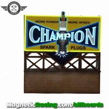 Magnetic Racing 026 Panneau Champion CLIGNOTANT