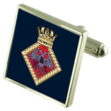 Royal Navy Falmouth Sterling Silver Cufflinks
