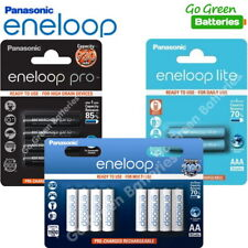 More details for panasonic eneloop aa aaa rechargeable batteries 2500 1900 950 930 750mah ready