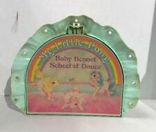 Vintage MY LITTLE PONY BABY BONNET SCHOOL OF DANCE Playset