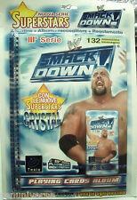 ALBUM RACCOGLITORE,BUSTINE CARDS WRESTLING WWE SMACKDOWN-BIG SHOW,JOHN CENA,JBL