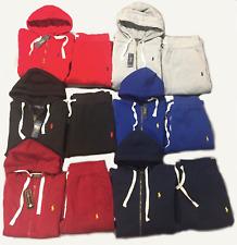 Polo Ralph Lauren Men's Sweat Suit Top & Bottom Full Zip Hoodie NEW