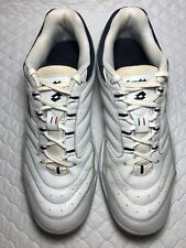 Lotto Men's White/Silver Sneakers Shoes Size-10