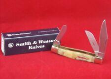 Smith & Wesson Cuttin Horse Stockman Texas Hold'Em Pocket Knife
