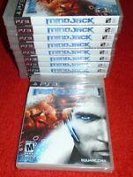 MindJack Mind Jack Game your for Playstation 3 PS3 system NEW SEALED