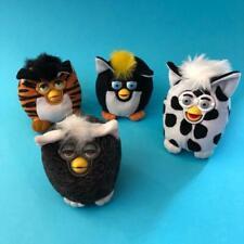 Vintage Furby McDonalds Happy Meal Complete Toy Beanie Plush Figures Set 2000 x4