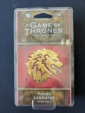A Game of Thrones Card Game Intro Deck House Lannister  NEW & SEALED