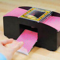 Auto  Kartenmischgerät Kartenmischmaschine Poker 2 Decks Kartenmischer Maschine