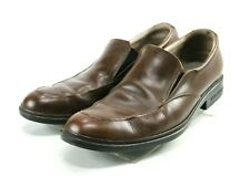 Skechers Relaxed Fit Men's $100 Dress Loafers Shoes Size 11 Leather Brown