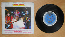"Brown Sauce - I Wanna Be A Winner - Swap Shop - 7"" Vinyl Single - BBC Records"