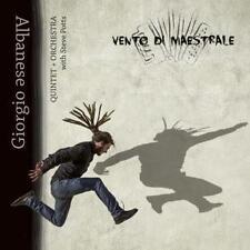 Vento Di Maestrale von Giorgio Albanese (2016) CD Neu