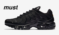 "Nike Air Max Plus TN ""Triple Black"" Men's Trainer All Sizes"