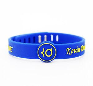 Kevin Durant I Believe Silicone Adjustable Bangle Wristband NBA Bracelet