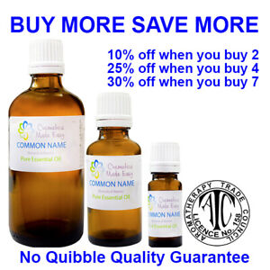 Essential Oils - 10ml 30ml & 100ml - 80+ Fragrances 100% Pure & Natural Quality