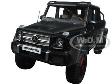 MERCEDES G63 AMG 6X6 BLACK 1/18 MODEL CAR BY AUTOART 76302
