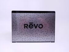 Revo advertising plaque.