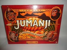 Jumanji Wooden Play Pieces Box Board Game Cardinal Edition 100% Complete