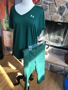 Under Armour 2pc Lot Size XL,Shirt/Leggings