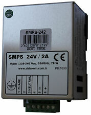DATAKOM SMPS-242 Din Rail Generator Battery Charger / 24V/2A DC power supply