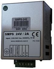 DATAKOM SMPS-242 Carregador de bateria do gerador de trilho DIN / 24V/2A fonte