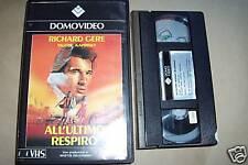 [3250] All'ultimo respiro (1983) VHS 1° ediz. Domovideo