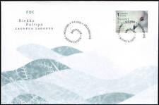 Finland FDC 2000, Bird, Willow Grouse (Lagopus Lagopus)