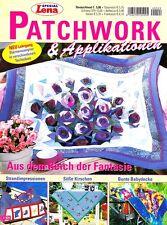 Lena`s Patchwork & Applikationen L 929 ROSEN - Taschen - Kirschen - Babydecke