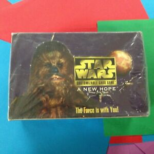 Star Wars  ==> A New Hope <== Sealed Booster Box   X1