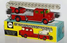 Siku V 261 - Feuerwehrdrehleiter Mercedes Benz Metz DL 30h in Reprobox