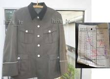 DDR frühe NVA Uniform Jacke mit schwarzen Kragen v. 1966 East german army tunic