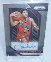 2018-19 Panini Prizm Basketball Chandler Hutchison Rookie Autographed Card BULLS