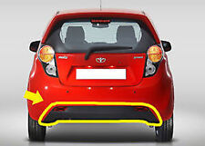 Rear Lip Spoiler Bumper Diffuser For 2010 2011 2012 Chevy Spark Matiz