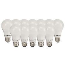 60 Watt Equivalent SlimStyle A19 LED Light Bulb Soft White 3000K 12 Pack 60W New