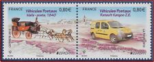 2013 FRANCE N°4749/4750** EUROPA Voitures : Malle Poste, Renault Kangoo CEPT MNH
