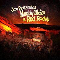 JOE BONAMASSA - MUDDY WOLF AT RED ROCKS  2 VINYL LP + DOWNLOAD NEU