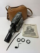 Vintage QUARZ 8mm Cine Camera Excellent Original Condition With Bag + Extras