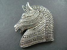 Brooch Horce (Br15) Vintage Silver Tone Pin