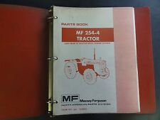 Massey Ferguson Mf 254-4 Tractor Parts Book S/N prior to 22210641 651460M92
