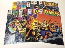 TUROK DINOSAUR HUNTER #9-19 (VALIANT/1994/RAGS MORALES/021770)COMPLETE SET OF 11