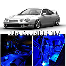 For 93-99 Toyota Celica Interior Xenon LED Light Bulb Full Package Kit (BLUE)