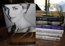 LOT OF 7 PRINCESS DIANA William and Kate Harry Bodyguard's Story  f
