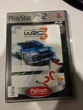WRC 3, PS2, good, complete, Playstation 2, tested