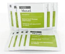 Lot of 25 Murad Resurgence Retinol Youth Renewal Night Cream .82oz/25ml New